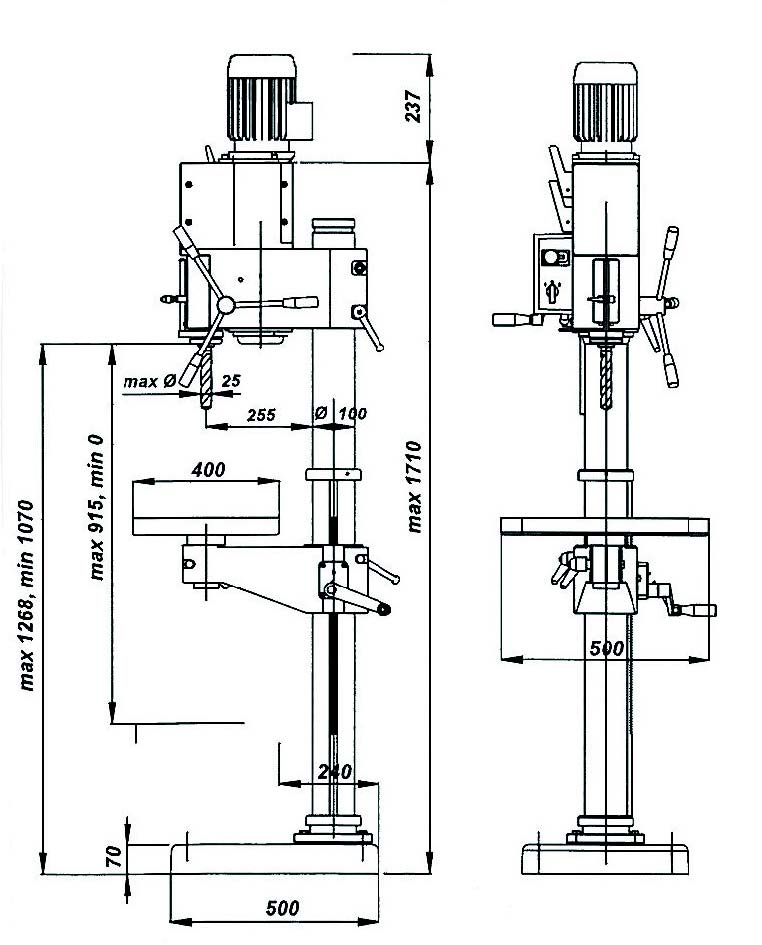 clausing drill press wiring diagram dayton drill press