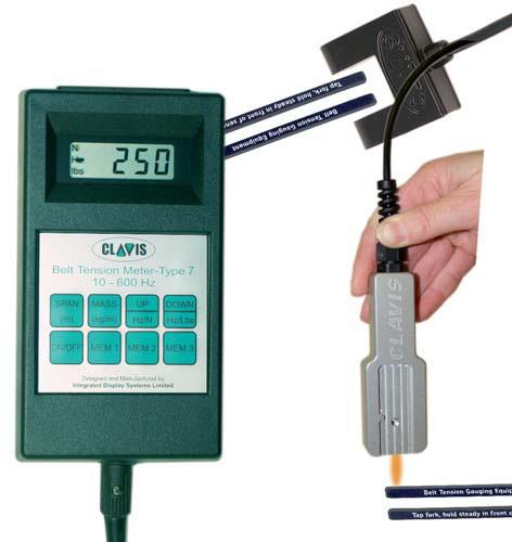 Belt Tension Meter : Clavis handheld tension meter type ansontools